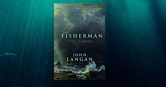 book cover of The Fisherman underwater
