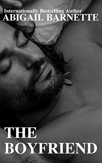 The cover features a picture of man of a middle-eastern ethnicity (very vague, I'm sorry, but it's from stock and I don't know who the guy is to tell you what his exact ethnicity is) reclining in sleep. He has a short beard and mussed, wavy dark hair that's about shoulder-length. Also, the longest eyelashes you've ever seen. There's the title of the book and my pseudonym on the cover, as well, but the highlight is this super hot sleeping dude who looks like a damn angel.