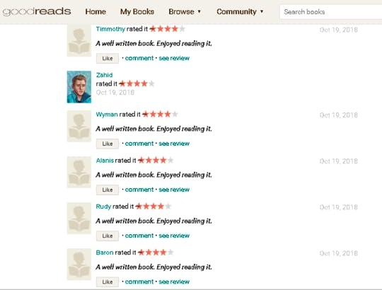 well written reviews
