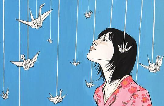 Image result for sadako and the thousand paper cranes