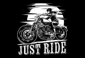 Biker-Girl