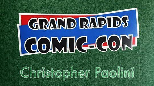 Grand Rapids Comic-Con 2018, Christopher Paolini
