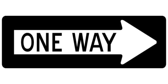 sign post one way