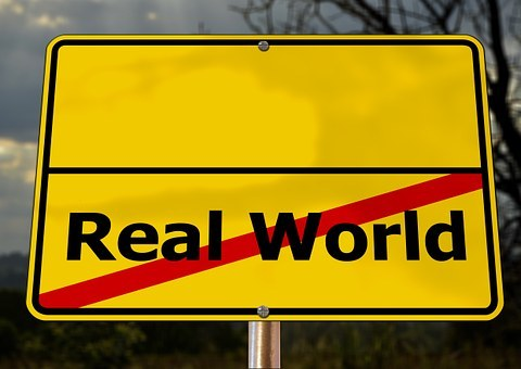 sign post real world