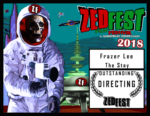 Zed-Fest-2018 The-Stay Directing Award