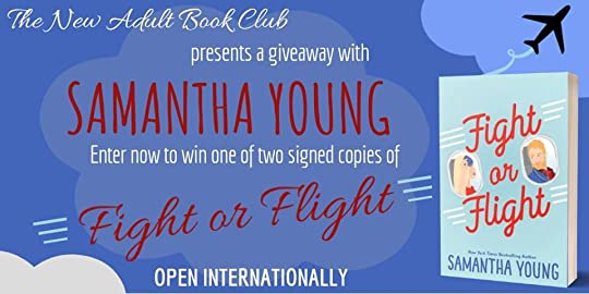 New Adult Book Club - NABC Giveaways: Samantha Young Signed