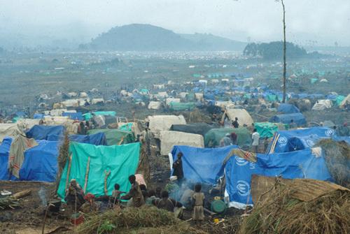 Image result for rwandan refugee camp