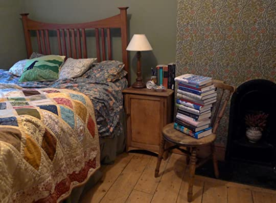 Books by the bed