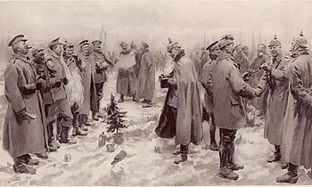 Image result for christmas eve 1914