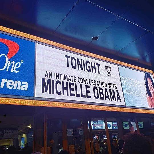 Michelle Obama Marquee