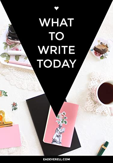 What to Write Today - Writing Ideas & Writing Inspiration
