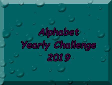 Alphabet Yearly Challenge 2019