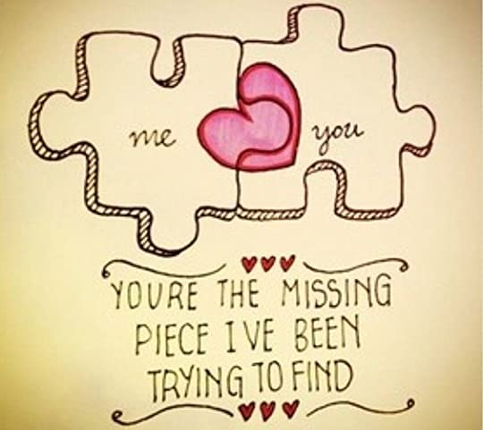 finding missing puzzle piece love