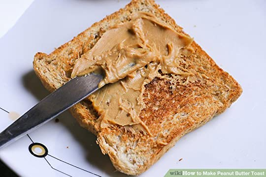 Image result for peanut butter on toast