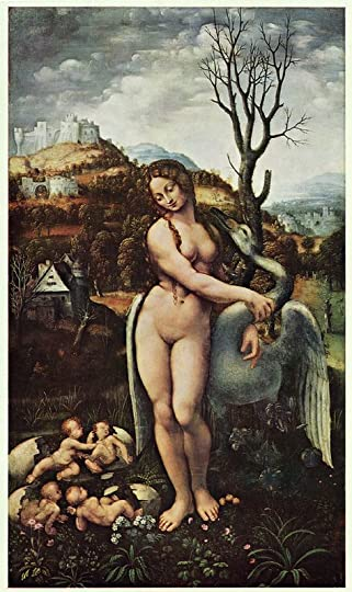 Leonardo da Vinci's Leda with Swan Mystical Knowledge