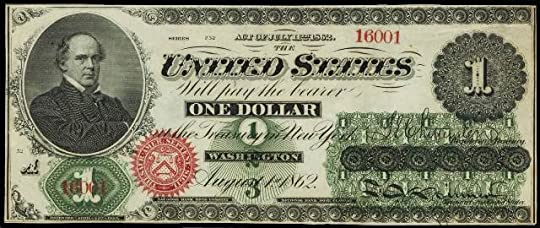 Image result for salmon p chase dollar bill value