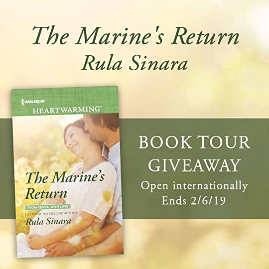 Tour Giveaway - The Marine's Return