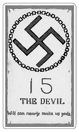 The Devil card from Riley's Simple Tarot