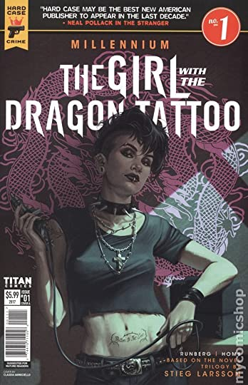 The Girl with the Dragon Tattoo: Part 1 of 2 by Sylvain Runberg