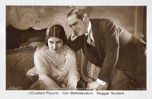Agnes Esterhazy and Harry Liedtke in Der Bettelstudent (1927)