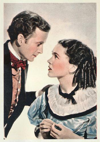 Frank Lawton and Maureen O'Sullivan in David Copperfield (1935)
