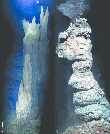 alkaline hydrothermal vents