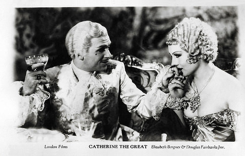 Douglas Fairbanks Jr. and Diana Napier in Catherine the Great (1934)