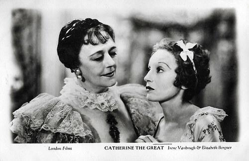 Irene Vanbrugh, and Elisabeth Bergner in Catherine the Great (1934)
