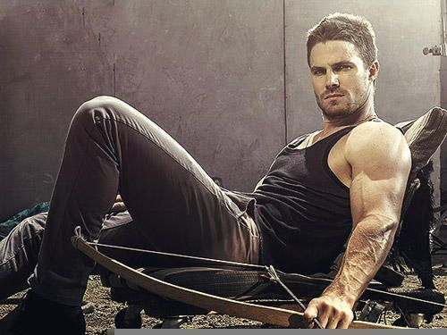 Stephen Amell - Inspiration for Ward
