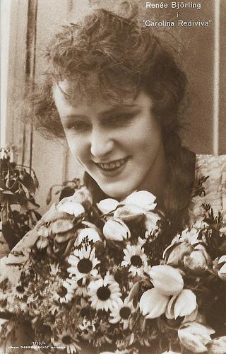 Renée Björling in Carolina Rediviva