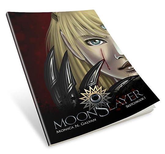 MoonSlayer Sketchbook Mockup