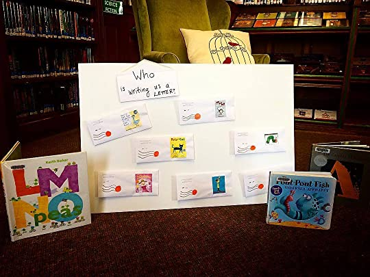 Check out our board of letters from our favorite book characters!