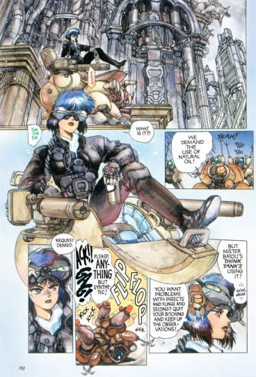 Ghost In The Shell Ghost In The Shell 1 By Masamune Shirow