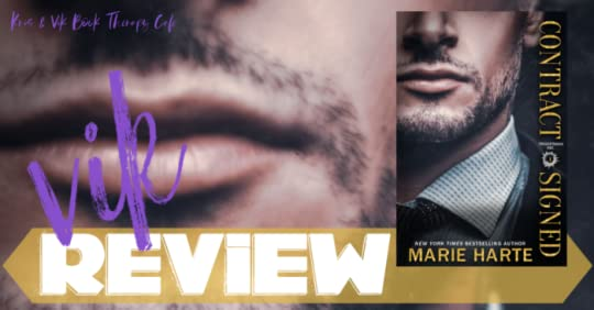 REVIEW: CONTRACT SIGNED by Marie Harte