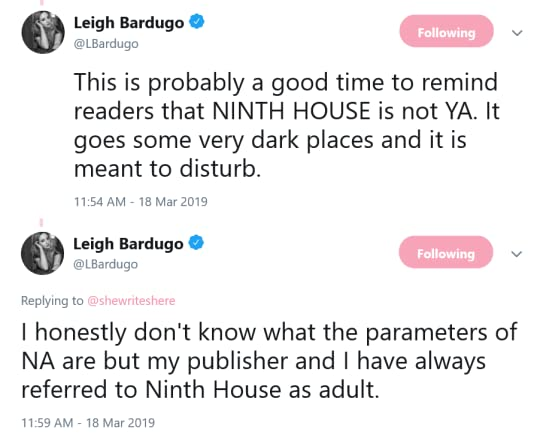 tweets from Leigh