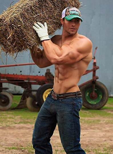 lifting and working on a farm….