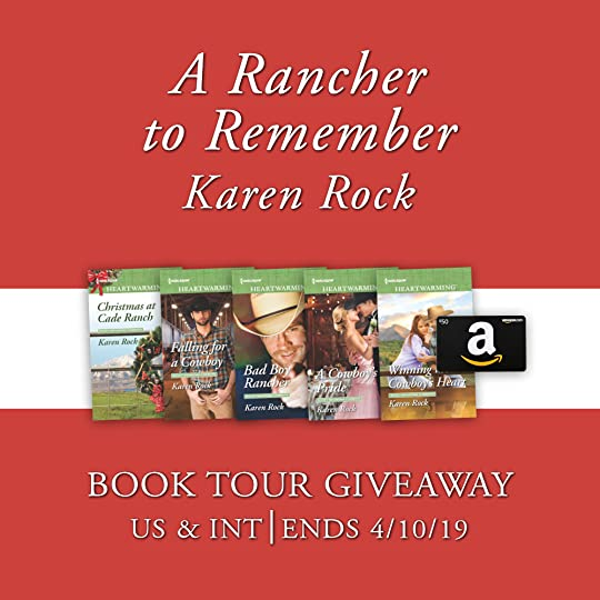 Giveaway - A Rancher to Remember