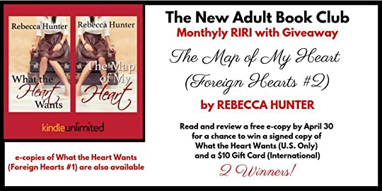 New Adult Book Club - NABC Giveaways: April RI&RI with Giveaway THE