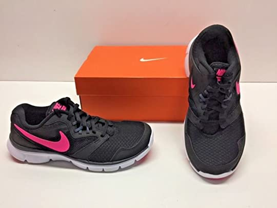 23fed122270e Nike Womens Black Pink Flex Experience RN 3 SNEAKERS Running Shoes