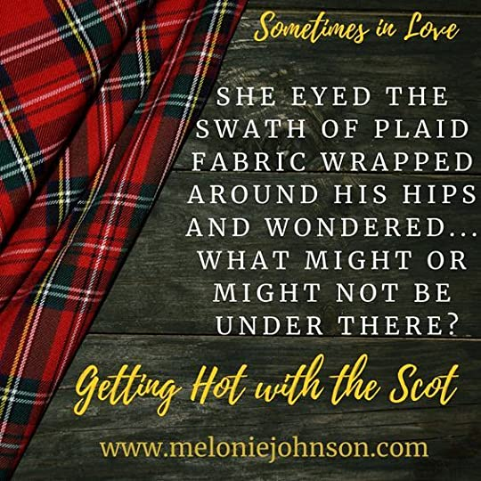 getting hot with the scot melonie johnson
