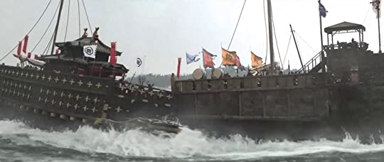 ships from Korean movie The Admiral