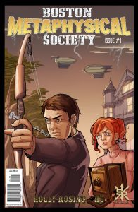 Boston Metaphysical Society #1 Cover Source Point Press