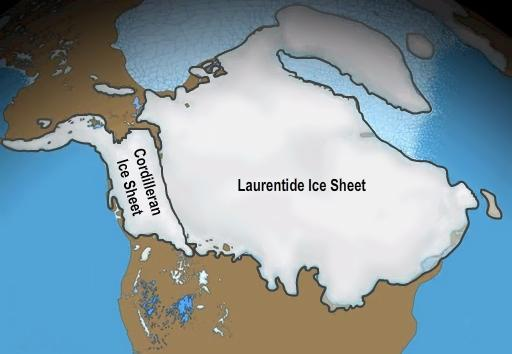 North American ice caps