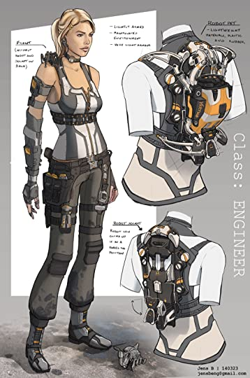 Image result for sci fi engineer