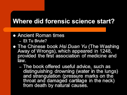 Forensics: What Bugs, Burns, Prints, DNA and More Tell Us