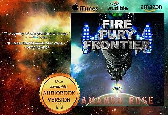 Amanda Rose's Blog - New Space Opera Audiobook! - April 27, 2019 12:02
