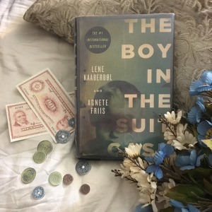 The boy in the suitcase picture