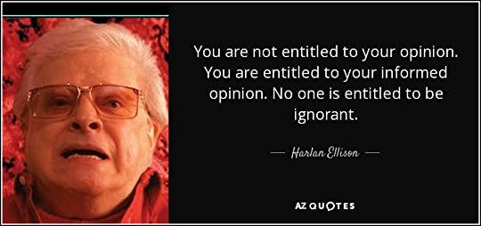 Image result for harlan ellison quotes