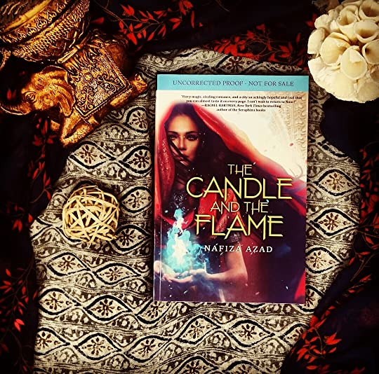 The Candle and the Flame by Nafiza Azad Bookstagram photo.jpeg