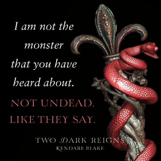 Two Dark Reigns (Three Dark Crowns, #3) by Kendare Blake